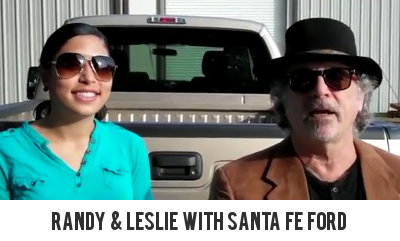 Randy and Leslie with Ford F-250 Gainesville Fl
